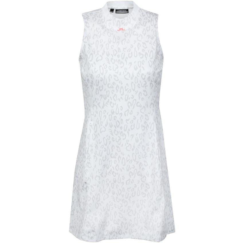 Womens Nena Active Mesh Sport Jersey Print Dress Animal Grey - SS21 0