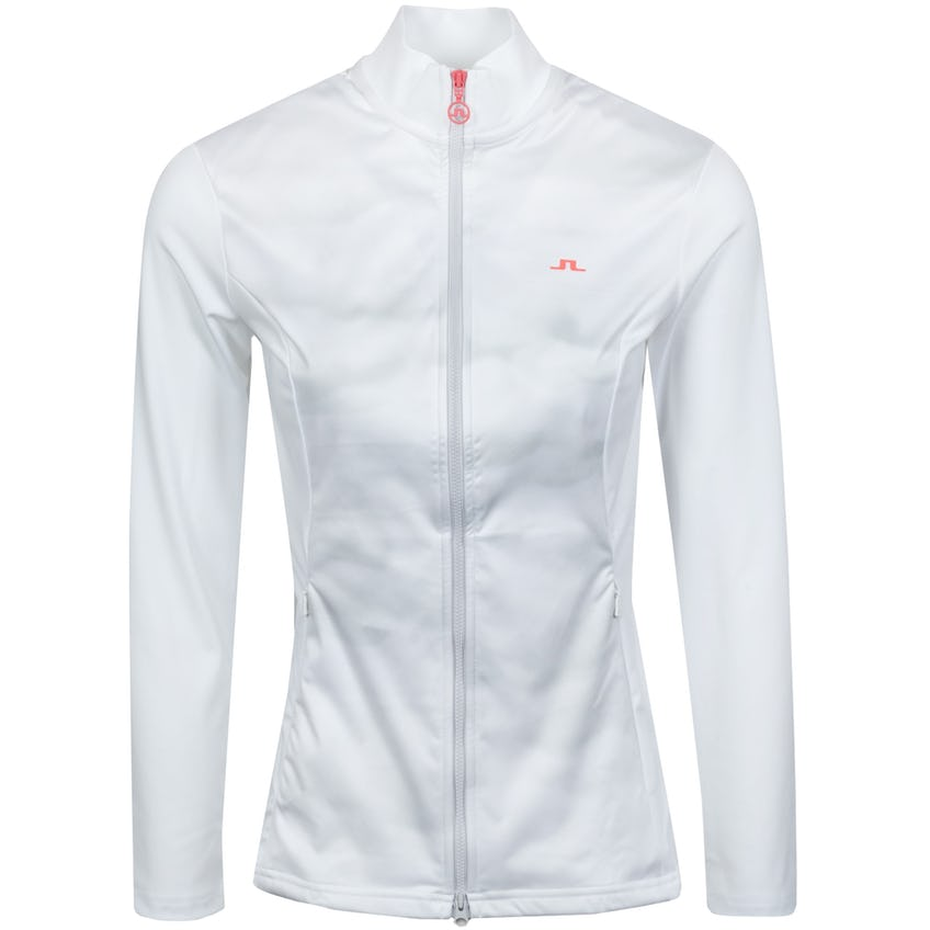 Womens Annie Sport Jersey Mid Layer White - SS21