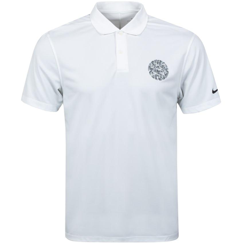x Nike Camo Dri Fit VCTRY Polo Shirt White