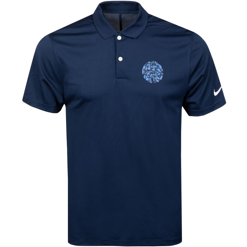 x Nike Camo Dri Fit VCTRY Polo Shirt Navy 0