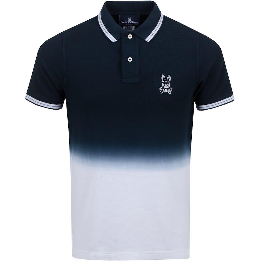Fairbanks Ombre Polo Shirt Navy - SS21