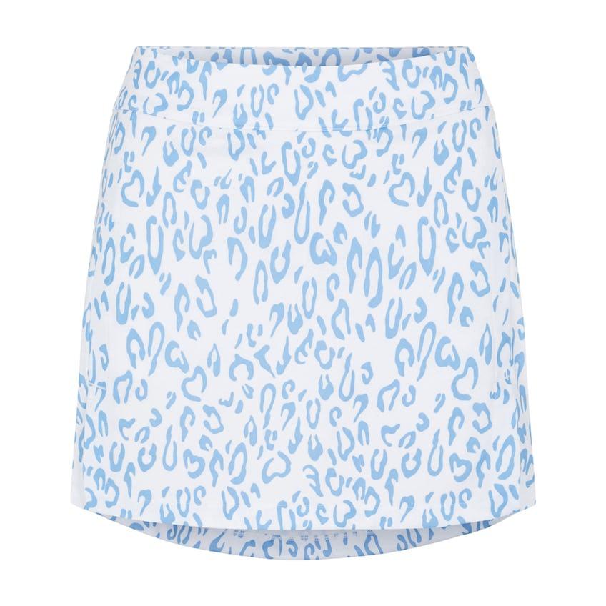 Womens Amelie Print TX Jersey Skirt Animal Blue/White - SS21
