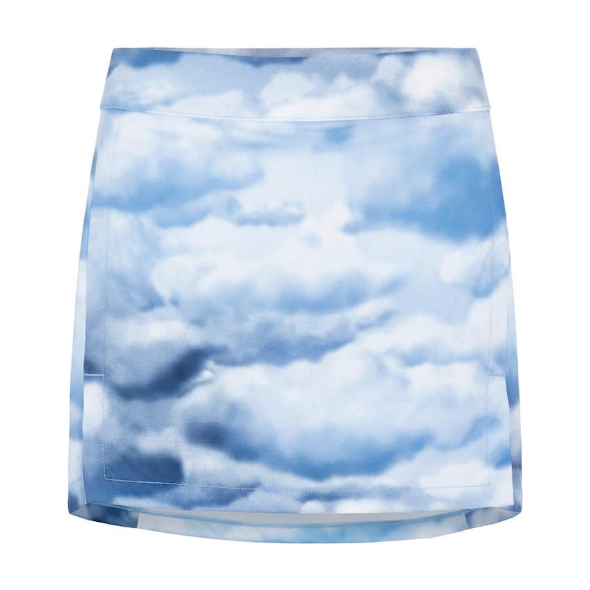 Womens Amelie Print TX Jersey Skirt Cloud/Midnight/Summer Blue - SS21