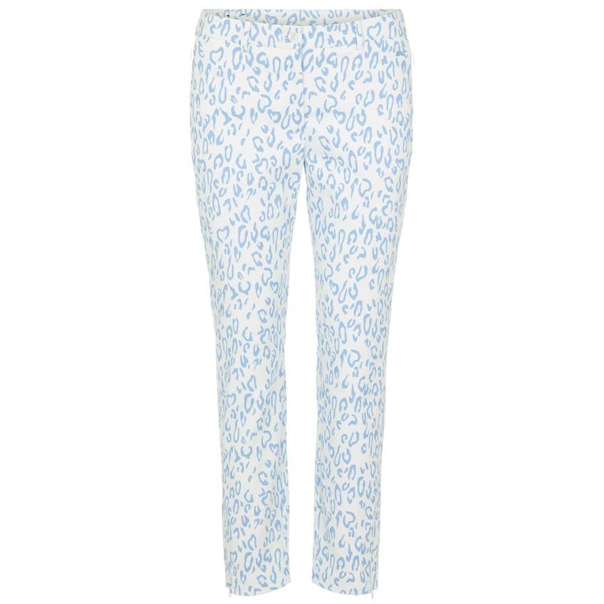 Womens Dana Micro High Stretch Print Trouser Animal Blue/White - SS21