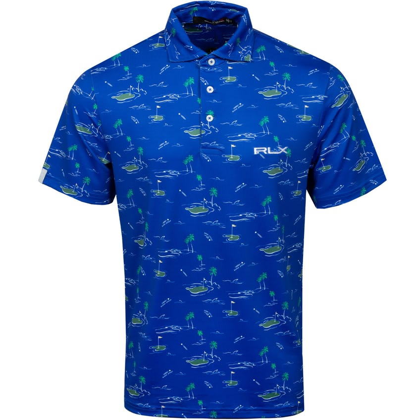 Lightweight Shark Attack Printed Airflow Polo Shirt - SS21