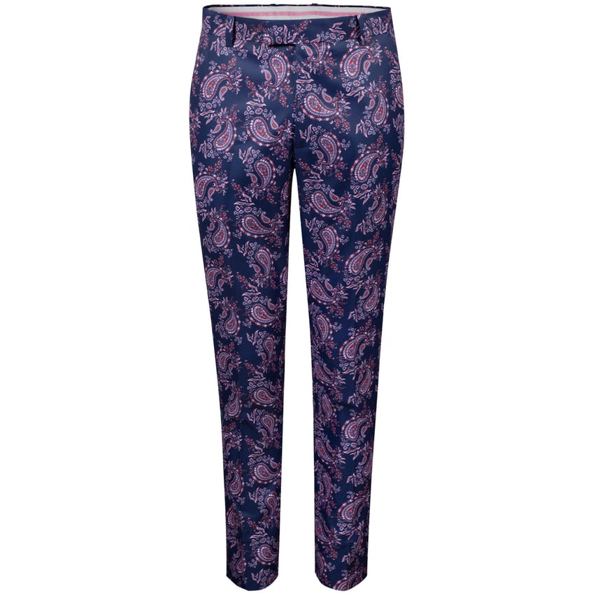 Printed Paisley Trouser Twilight - SS21