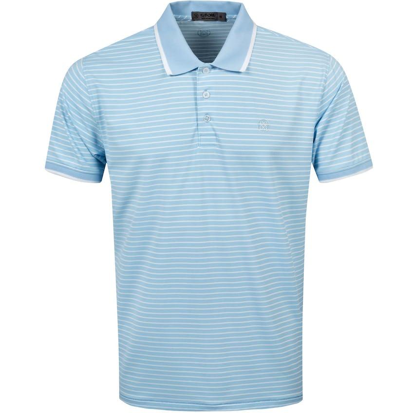 Perforated Stripe Polo Shirt Baja - SS21 0