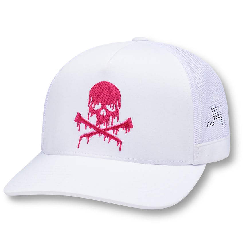 Dripping Skull & T's Trucker Caps Snow - SS21