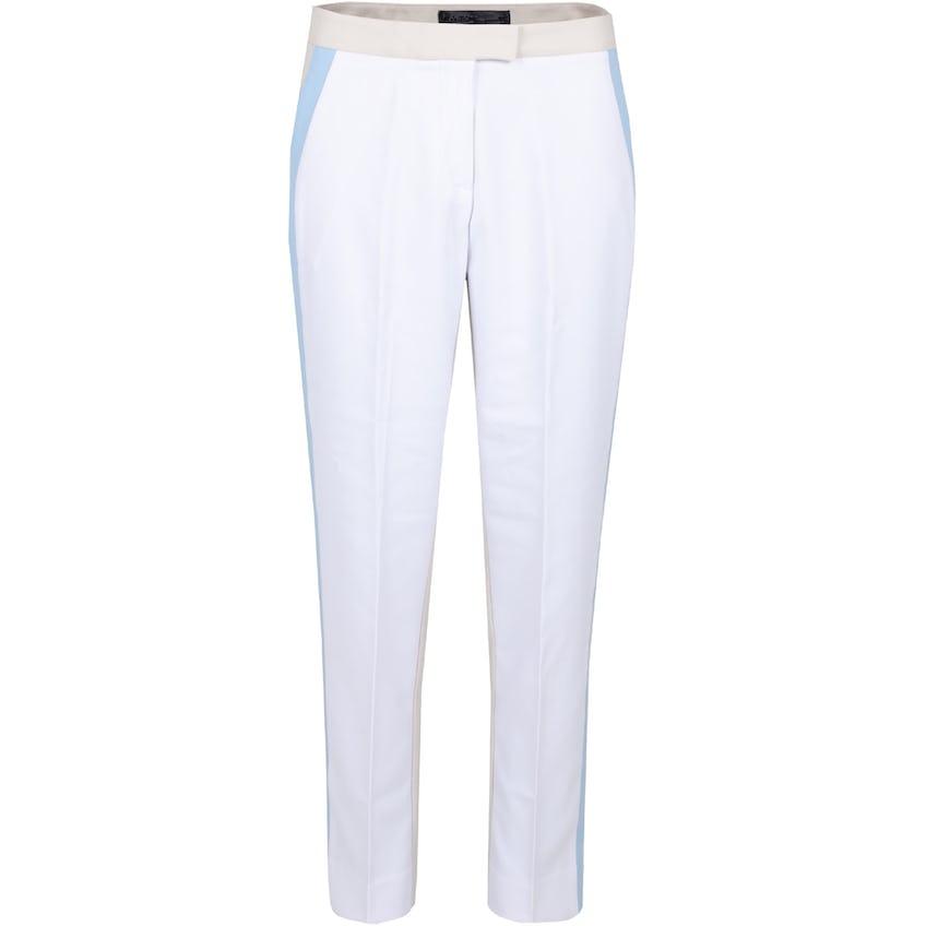 Womens Straight Leg Colour Block Trousers Snow/Stone - SS21 0